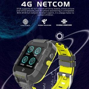Image 3 - 696 df39z 4g 어린이 스마트 시계 gps 와이파이 추적기 smartwatch 터치 스크린 sos sim 전화 방수 어린이 선물 카메라 시계