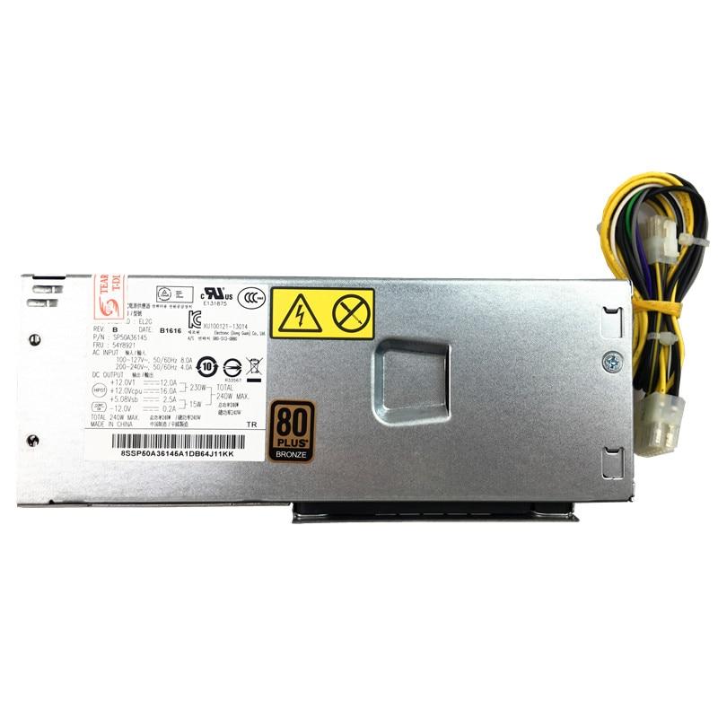 240W PC Power Supply PCB020 HK280 71FP FSP180 30SBV for H3050 Server E73 M92p 73 SFF