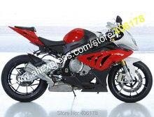 Ventas calientes, para BMW S1000RR carenado S1000 RR S 1000RR S1000 RR 2010-2014 rojo negro blanco kit de carrocería carenados ( moldeo por inyección )