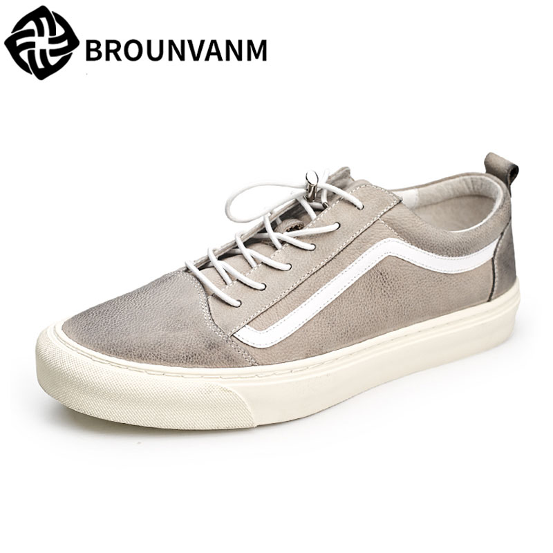 British reto Male casual shoes spring autumn summer all-match cowhide breathable sneaker fashion men's Leisure shoes men 2017 new autumn winter british retro men shoes zipper leather breathable sneaker fashion boots men casual shoes handmade