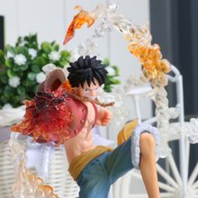 7″ One Piece Monkey D Luffy Battle Ver. Figuarts Zero zoro sanji ace boa Marco sabo PVC Action Figure Collection Model Toy Gift