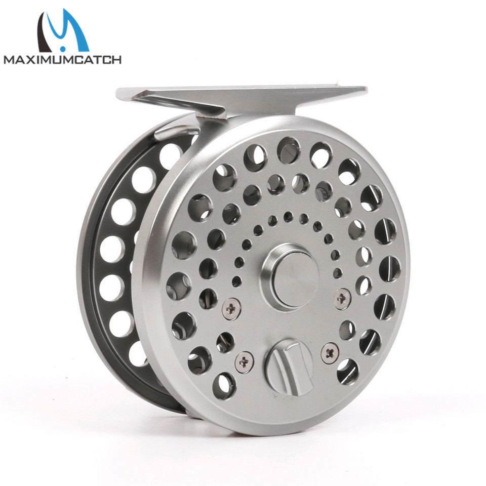 Maximumcatch New Clicker and Pawl Trout Fly Reel 3/4 WT Sliver Aluminum Classic Trout Fly Fishing Reel аккумулятор nobby slim 025 001 4000 mah usb 1 2а black 09282