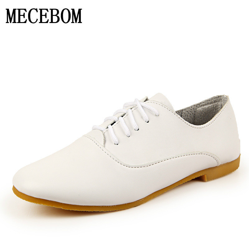 2017 Shoes Woman  Leather Women Shoes Flats 4 Colors Buckle Loafers Slip On Women's Flat Shoes Moccasins Plus Size 2510W 2017 shoes woman leather women shoes flats colors footwear loafers moccasins slip on women s flat shoes plus size ballet 459w