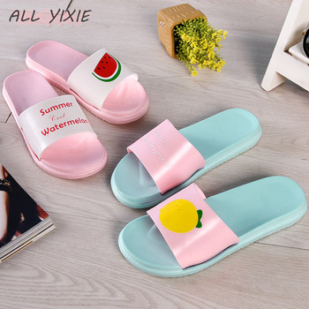 ALL YIXIE 2019 Women Slippers Fashion Summer lovely Ladies Casual Slip On Fruit jelly Beach Flip Flops Slides Woman Indoor Shoes 1