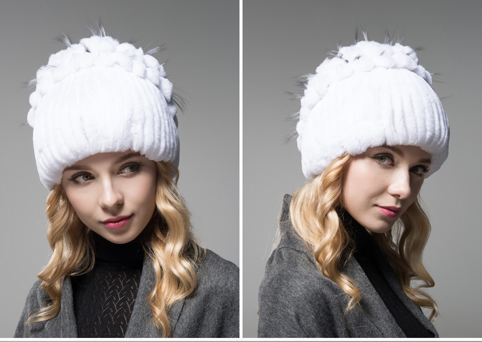 fur winter hats for women PCM003 (10)