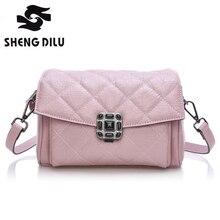 2016 new female bag, han edition fashion leather handbag, shoes, bag, oblique cross lady bags