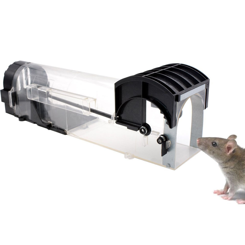 ABS Plastic Smart Mouse Live Traps Small Animal Live Cage Rat Trap ...