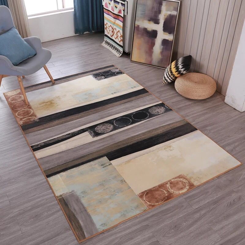 Nordic Abstract Art Carpet High Density Super Soft Anti-slip Rugs Pad Bedside Blanket Prayer Parlor Bedroom Home Floor MatNordic Abstract Art Carpet High Density Super Soft Anti-slip Rugs Pad Bedside Blanket Prayer Parlor Bedroom Home Floor Mat