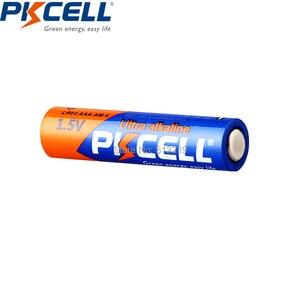 Image 5 - 100 Uds Batería alcalina PKCELL 1,5 V LR03 AAA batería de único uso para cámara, calculadora, despertador, ratón, control remoto