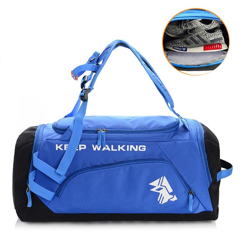 HOYOBISH 2018 Large Capacity Men Travel Shoulder Bag Nylon Waterproof Big Duffle Bag Multifunction Women Hand Luggage Bag OH315 filtero un 10 2 pro