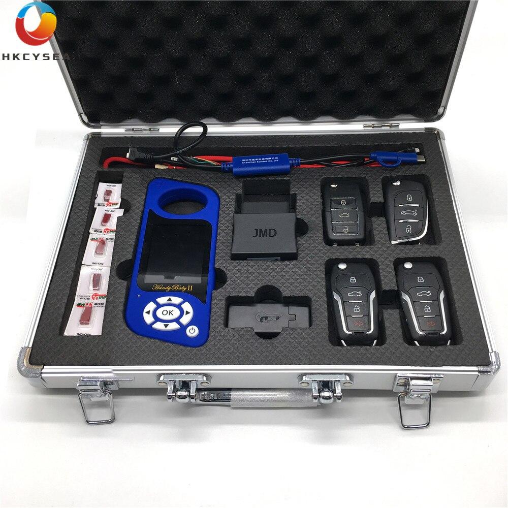 JMD Handy Bébé II pour 4D/46/48/G Roi Rouge Puce À Distance Key Generator Carte Copieur handy Bébé 2 Anglais/Espagnol Langue Programmeur