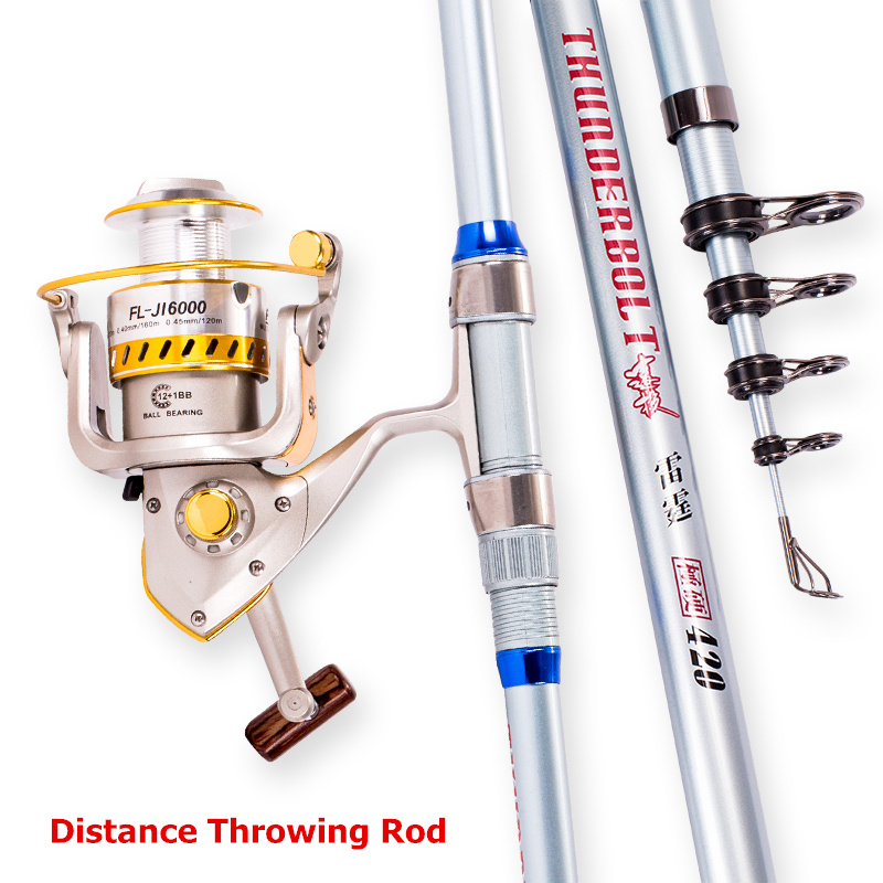 2019 Superhard Distance Throwing Fishing Rod Stream Hand toughness Carbon Fiber Spinning Telescopic Fishing Rods