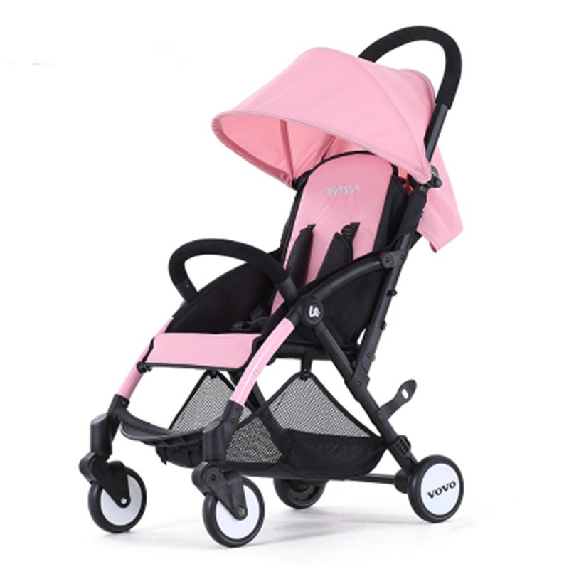 2017 New light children baby stroller foldable 3 in1 can sit can sleep comfortable Baby carriages 6 months to 5 years old цена