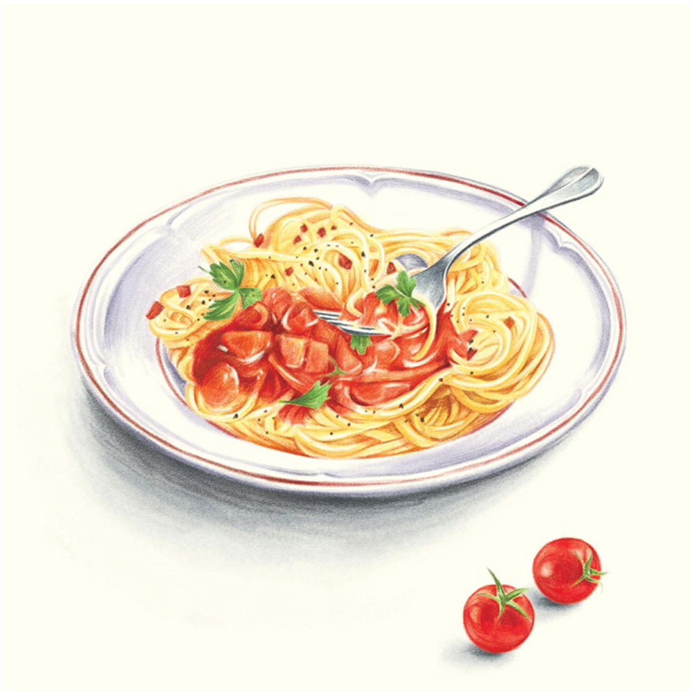 Cina Lukisan Buku buku makanan lezat dicat untuk Orang Dewasa - Buku-buku - Foto 4