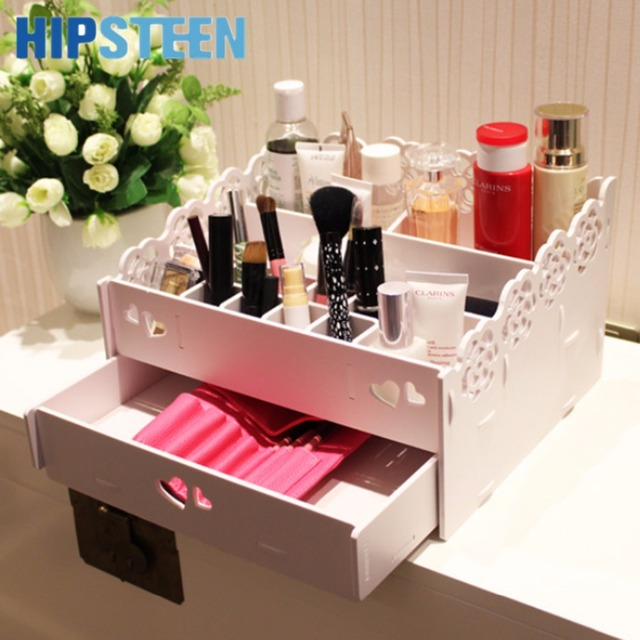 Teen Jewelry Box Enchanting HIPSTEEN Lace Cosmetic Storage Box Makeup Case Jewelry Box Holder