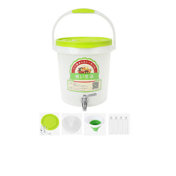 XMT-HOME Enzyme barrel with electric heater fast fermentation jar with tap fermenter bucket 1pc