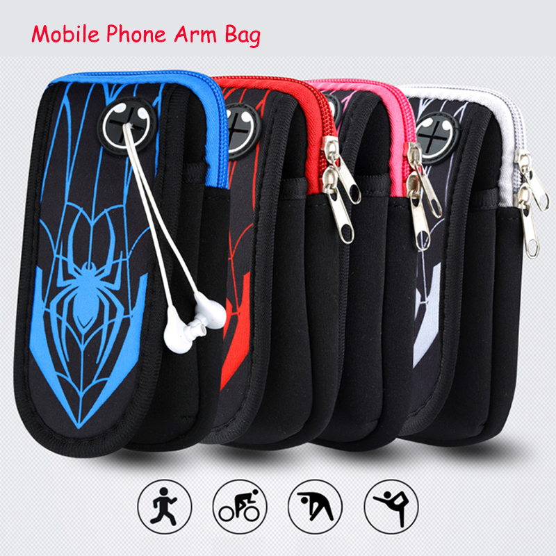 Cellphones & Telecommunications Popular Brand Gym Sports Running Armband For Iphone X Xs 5 Se 6 6s 7 8 Plus Mobile Phone Arm Bag Pouch Belt Wristband For Smartphone Below 6