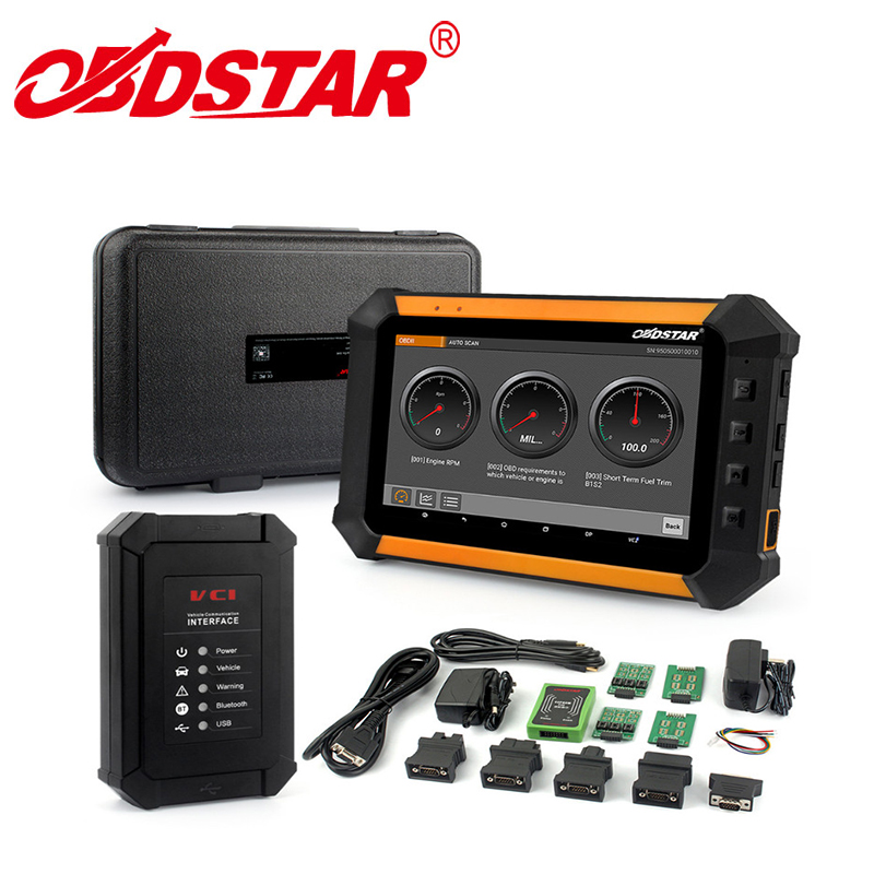 Newest OBDSTAR X300 DP X-300DP PAD Tablet Key Programmer Full Configuration All In One OBDSTAR X300 DP with Android System Based
