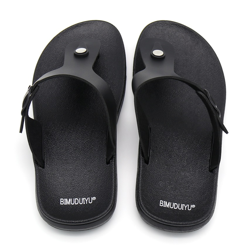 d0980e02b0414 BIMUDUIYU Brand New Arrival Classic Summer Men Flip Flops Non slide Male  Slippers Comfortable Breathable Beach Shoes Hot Sales-in Flip Flops from  Shoes on ...