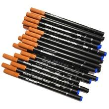 12 PCS/LOT stylo à bille roulante en céramique recharge noir ou bleu Schmidt SRC 888 F ensemble de papeterie exécutif fournitures pour étudiants