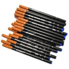12ピース/ロットセラミックローラーペンリフィル黒または青シュミットsrc 888 fペンエグゼクティブ文房具セット学生用品