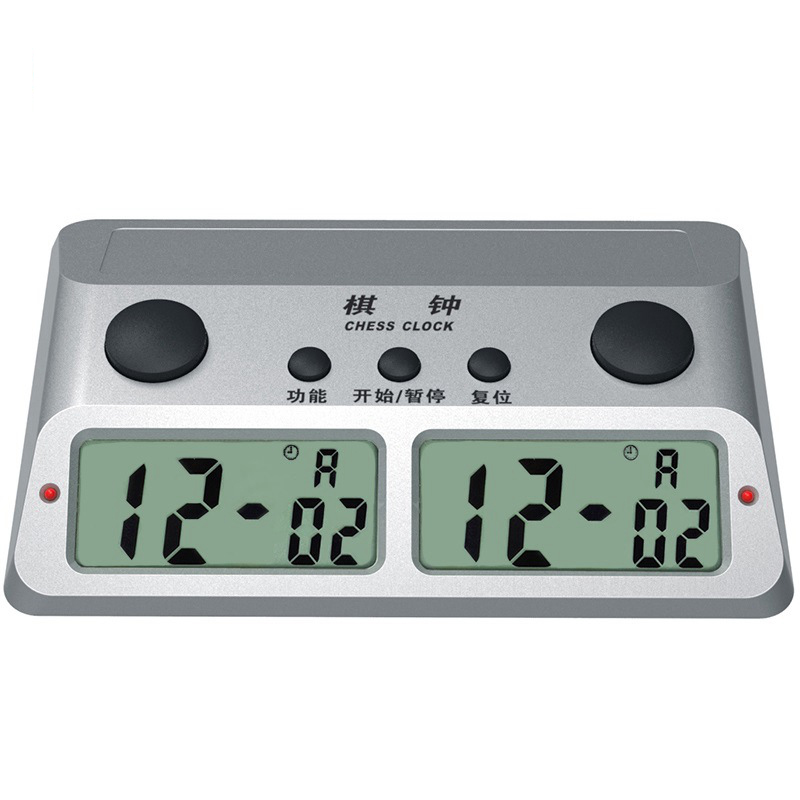 Electronic digital Chess clock Jump Competition Games Multifunction Timer Stop Watches Professional Sports Q668