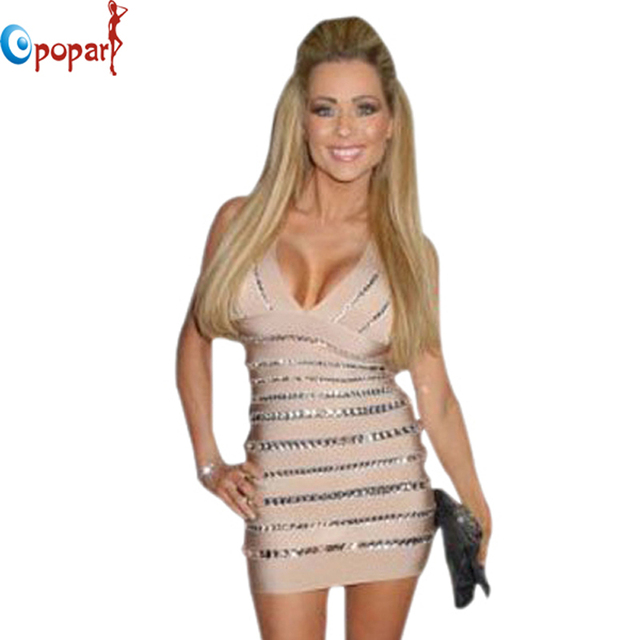 Women's Dress Luxury V-Neck Sleeveless Crystal Beans Hand Made Sexy Cocktail Party Dresses Fashion Best Selling Dropship HL9999