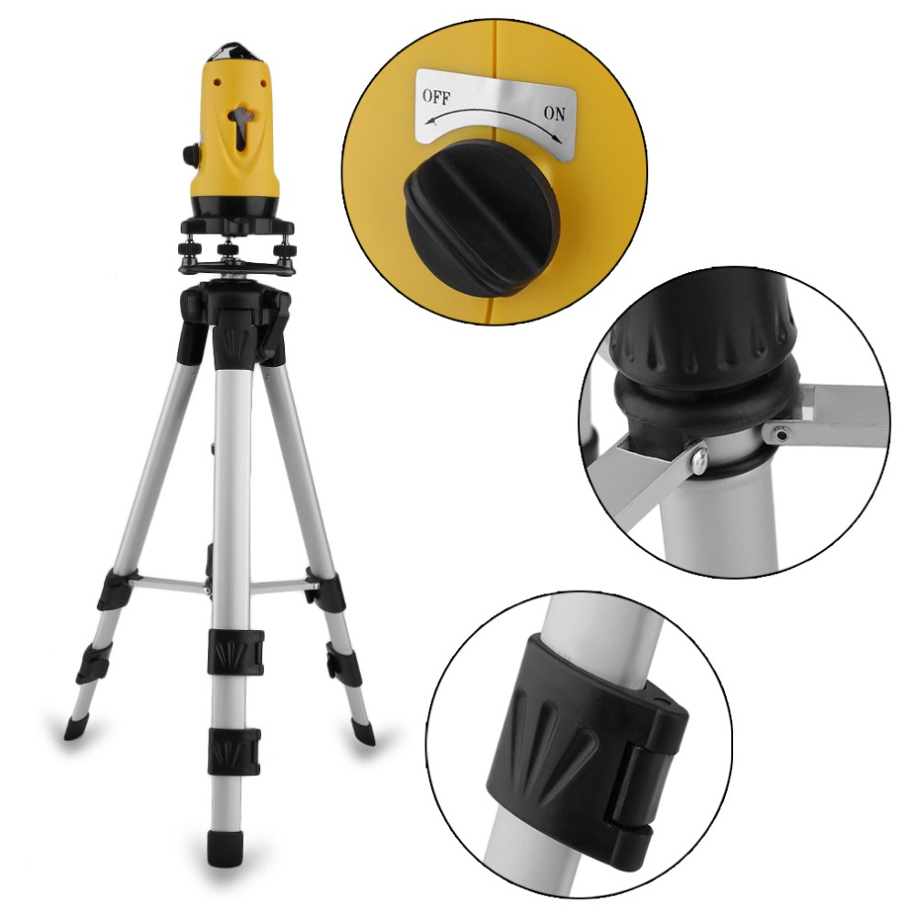 Newest SL-201 110 Degrees Multifunctional Laser Level 650nm Leveling Instrument With Tripod Vertical Horizontal Line ToolNewest SL-201 110 Degrees Multifunctional Laser Level 650nm Leveling Instrument With Tripod Vertical Horizontal Line Tool