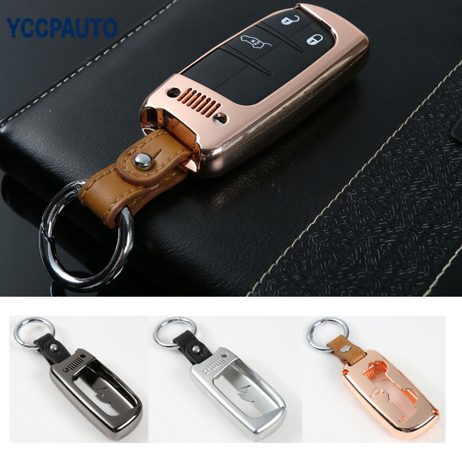 car-styling Key Case Covers Ring Car Keychain Key Chain For Jeep Renegade Free Shipping acme studios master key ring kao50kr