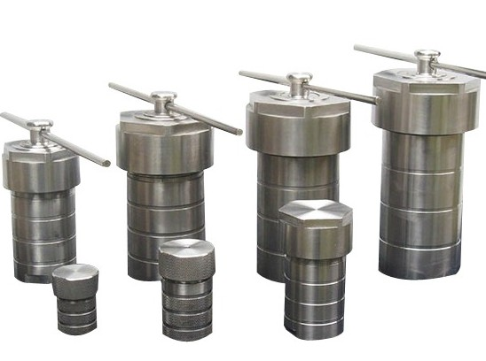 Hydrothermal Synthesis Reactor Kettle Teflon Chamber Autoclave  50 ml 9sets of 50ml Autoclave + 10pcs 50ml Teflon containers synthesis and characterization of nc ge using ion beam techniques