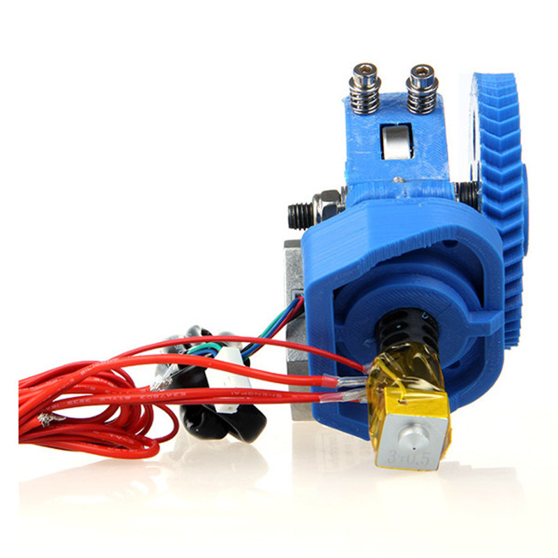 Durable Quality 12V 8W For Assembled 3D Printer GT3 Extruder With J-Head Nozzle for 3D Printer Parts & Accessories 3d printer accessory reprap j head mkiv mkv hotend nozzle wade bowden extruder for choice top quality free shipping