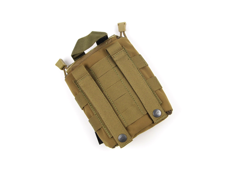 Trauma Kit Pouch Military Coyote Brown MOLLE Medical Pouch+Free shipping(XTC050198)