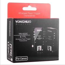 Yongnuo YN 622C, YN 622C Draadloze ETTL HSS 1/8000S Flash Trigger 2 Zendontvangers voor Canon 1100D 1000D 650D 600D 550D 7D 5DII 50D