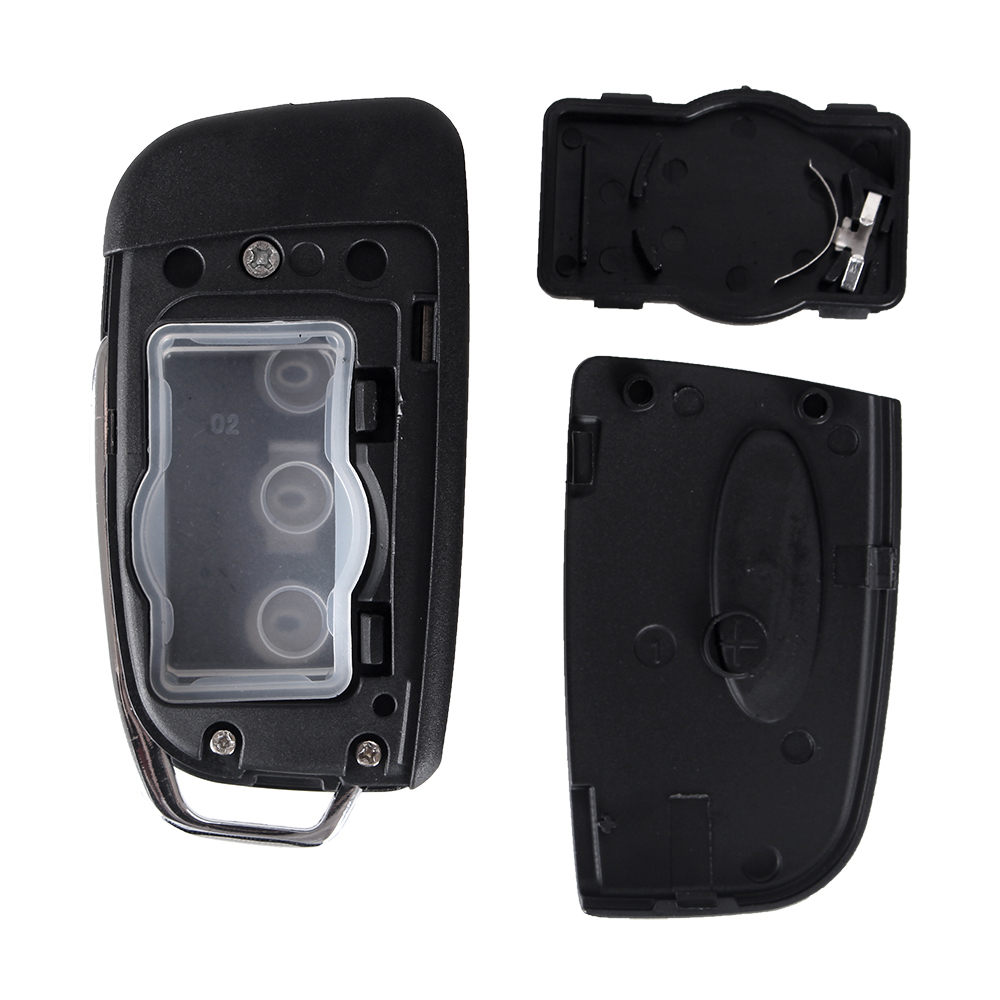 Dandkey Modified Remote Key Shell Fob Case Cover 3 Button For Ford Focus Mondeo C Max S Max Galaxy Fiesta Ka