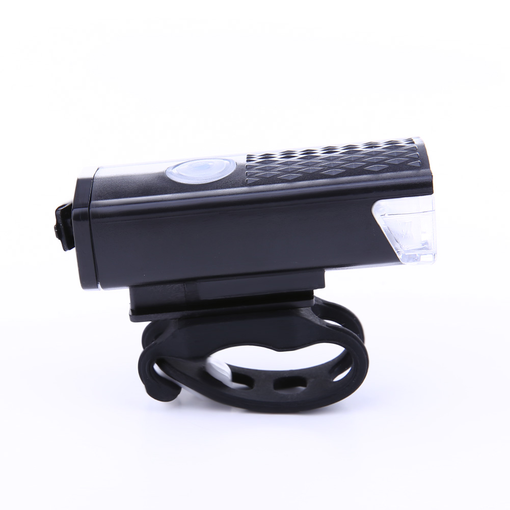 For Bicycle Head Lights Front Handlebar Lamp Flashlight 300LM LED Recharable YR