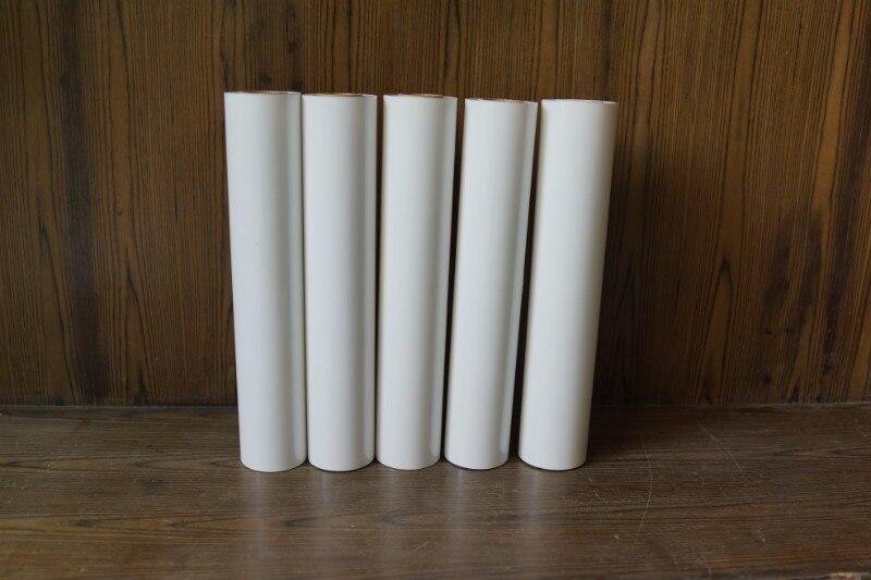 Bricolage adhésif artisanat vinyle coupe feuille couleur blanche lettrage Film decoupage décalcomanie Monofilament Polyester compte impression tissu