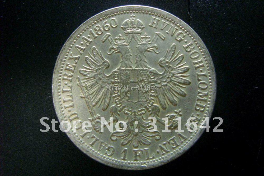 Austria Imperator Franc Ios Silver Coin