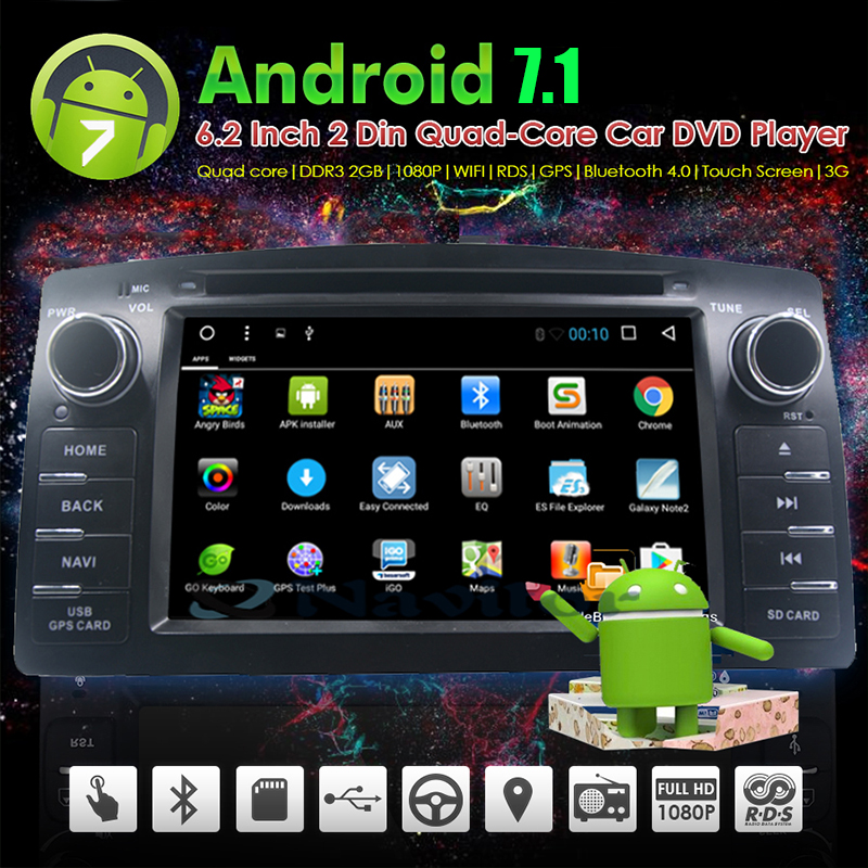 2 din android 8.01 voiture dvd gps pour toyota corolla e120 byd f3 2003-2006 autoradio avec volant wifi fonction obd2 din android 8.01 voiture dvd gps pour toyota corolla e120 byd f3 2003-2006 autoradio avec volant wifi fonction obd