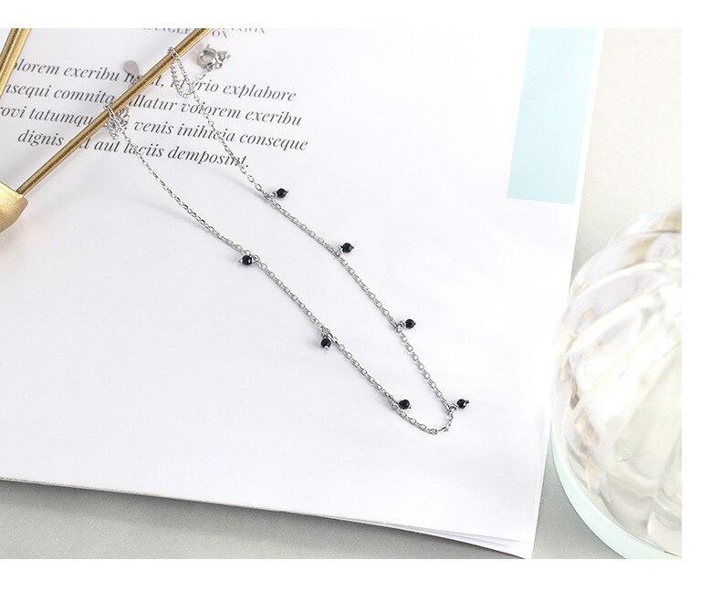 Sterling Silver Choker Necklace Fine Jewelry for women