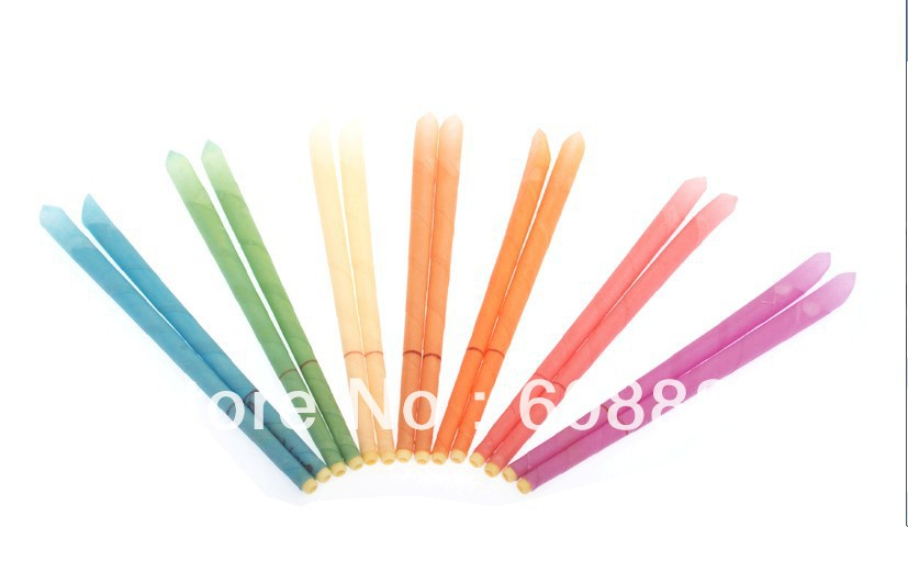 51 pairs lot pesticide residue free aromatherapy trumpet ear candles burning smoke free mixed scent protective