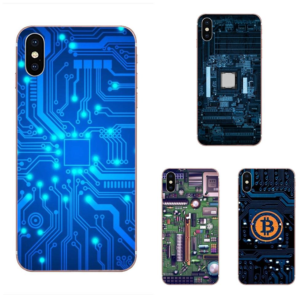 Technology Circuit <font><b>Motherboard</b></font> For <font><b>Samsung</b></font> <font><b>Galaxy</b></font> <font><b>Note</b></font> 5 <font><b>8</b></font> 9 S3 S4 S5 S6 S7 S8 S9 S10 mini Edge Plus Lite Soft Print Capa image