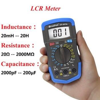 HoldPeak Digital Capacitance Meter ( LCR Meter ) Diagnostic-tool with LCD Backlight,HP-4070L holdpeak hp 4070l capacitance multimeter digital inductance lcd meter hfe test manual range inductance lcr meter test multimeter