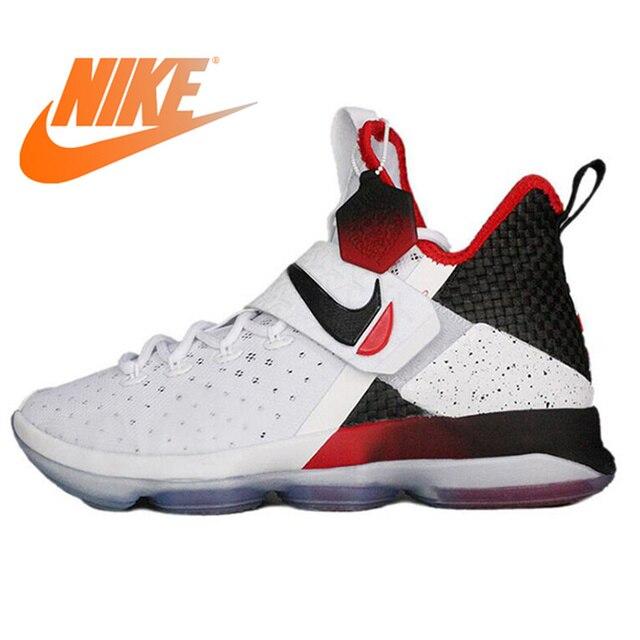 42ec8082892 Original Official NIKE LEBRON XIV EP LBJ14 FINALE EVO Men Comfortable Breathable  Basketball Sports Shoes Sneakers Good Quality