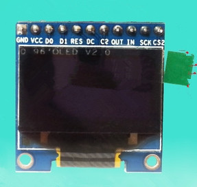 US $6 11 |NoEnName_Null 0 96 inch White OLED Module with Chinese Font  IIC/SPI Interface 2 8V 5 5V-in LCD Modules from Electronic Components &  Supplies