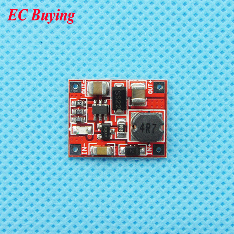 10 pcs Mini DC-DC Power Supply Module Converter Booster Step Up Module Circuit Board 3V to 5V 1A High Efficiency 96% Ultra Small