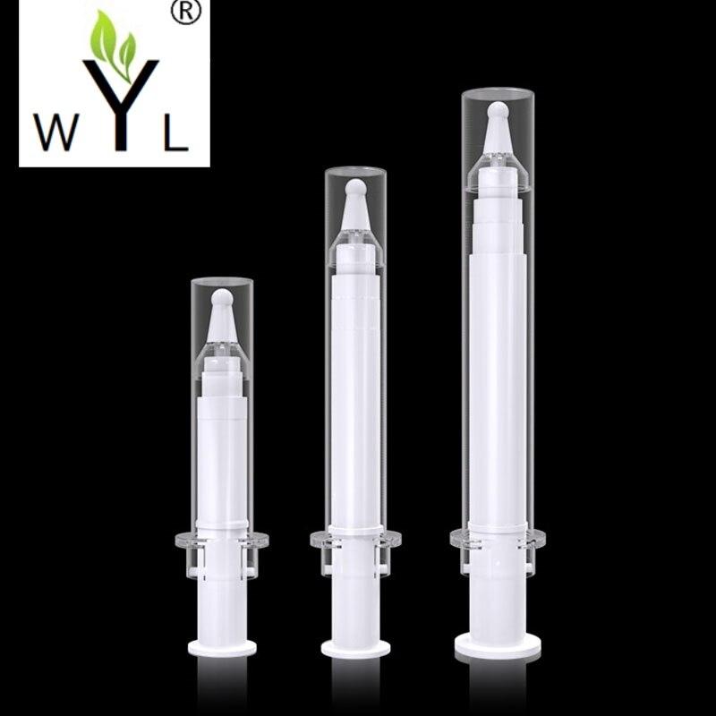 5ml 10ml 20ML Empty Grade Airless Syringe Bottle Vacuum Bottle Emulsion Bottle Lotion Pump DIY Clear