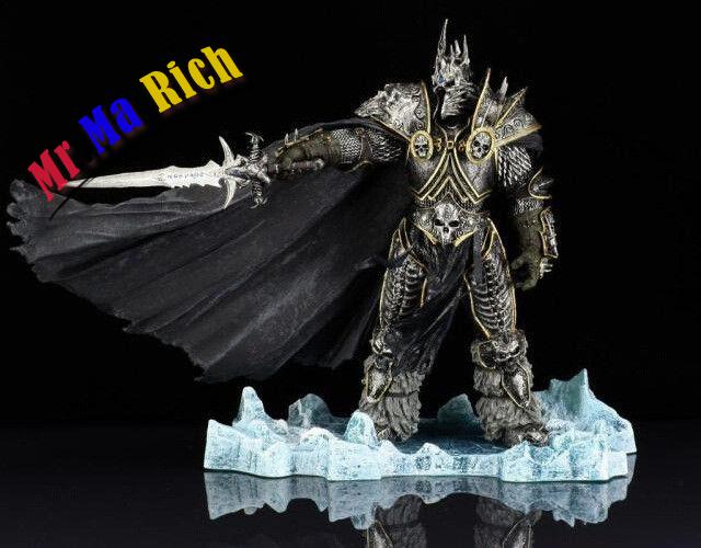"World of  Lich King Arthas Menethil PVC Figure Figurine Toy DC 7"" wrath of the lich king collectors edition eu киев"