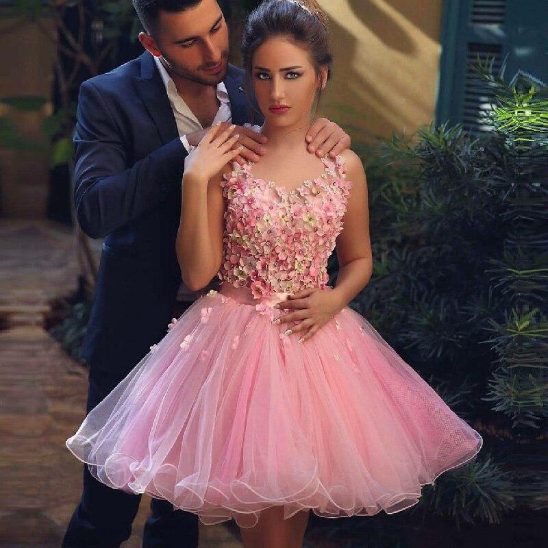 Multa Sexy Vestidos De Fiesta De Color Rosa Ideas Ornamento ...