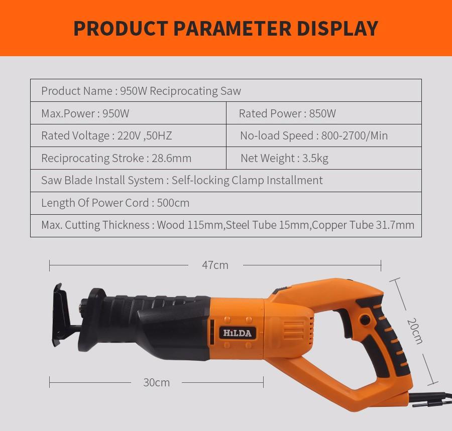 Aliexpress Com Buy Hilda 950w Reciprocating Saw Woodworking