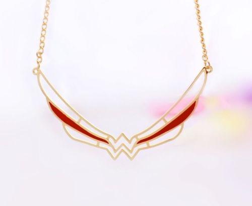 HTB1.qejRFXXXXXraXXXq6xXFXXXN - 2017 Wonder Woman Symbol Necklace Super Hero Comic Jewelry